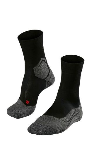 Falke RU3 Hardloopsokken Dames grijs/zwart